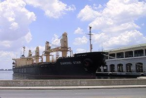 image: Cuba US air freight ferry tourism ban passenger logistics hub