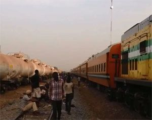 image: Apapa Nigeria intermodal services container shipping rail freight truck APM terminal