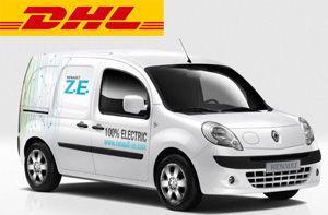 image: Ukraine Germany electric van freight warehouse logistics hub cargo truck