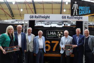 image: UK, prostate, cancer, League managers association, football GBRf, Railfreight, Frank Clark, Roy Hogdson, David Pleat, Howard Wilkson, Tony Pulis,