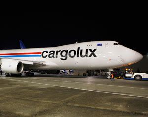 image: Cargolux air cargo carrier freight airline