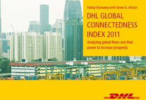 image: DHL shipping freight logistics supply chain