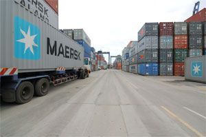 image: Maersk shipping container leasing  box TEU