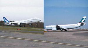 image: US Europe aerospace Boeing Airbus freight
