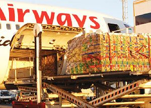 image: Kenya air freight dangerous goods forwarder shipper IATA training cargo plane