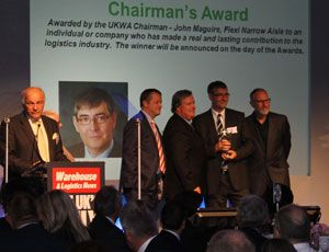 image: UKWA warehousing logistics awards Transaid Dorchester Hotel Battle of Normandy 3PL