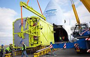 image: Antonov freight forwarding air cargo heavy lift