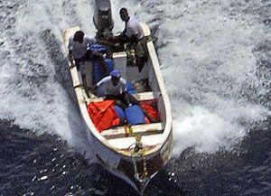 image: Somalia freight pirates EU Navfor Indian Ocean skiff