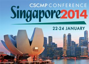 image: Council of Supply Chain Management Professionals (CSCMP) Singapore logistics Grand Copthorne Waterfront Hotel conference