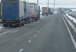 image: UK freight driver rest areas weekly DVSA motorway buddy