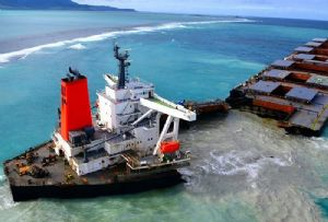 image: Mauritius, Japan, MV Wakashio, foundered, coral reef, oil, spill, fuel, bunker, IMO. Clyde and Co, Mitsui OSK, the P&I Club, Nagashiki, shipping, environmental, disaster,