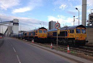 image: Eurotunnel GBRf UK Hector rail freight
