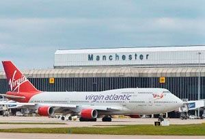 image: UK Manchester airport freight figures air handled