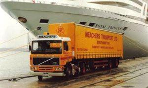 image: Meachers, logistics, transport, warehousing, freight, forwarding, Oast