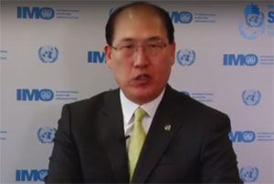 image: World Maritime Day IMO shipping Secretary General, Kitack Lim Forum