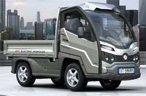 image: UK electric truck commercial delivery vehicle tonne