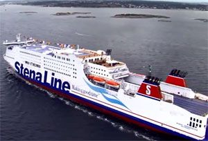 image: Sweden Poland Ro-Pax methanol Stena Line ferry shipping