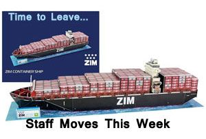 image: Israel ocean container freight logistics intermodal staff moves appointments departures