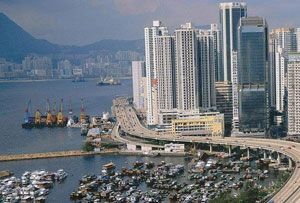 image: SEKO Hong Kong Chinese retail online consumer freight logistics warehousing investment