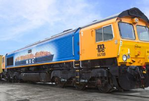image: UK, freight, intermodal, container, port, MSC, GBRf,