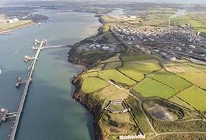 image: UK logistics GAC Terminal and Marine Services Cardiff Plymouth