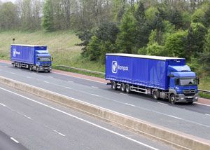 image: Carntyne UK road haulage logistics semi trailer fleet oversize