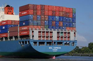 image: Japan bulk freight container shipping line box