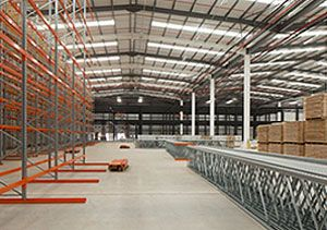 image: UK logistics Caterpillar supply chain Finning Cannock distribution centre Ireland