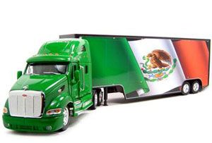 image: US road haulage freight trade hauliers Mexican NAFTA FMCSA