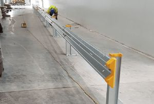 image: UK, DHL, Brandsafe, logistics, facility, Manton Wood, safety, security, Armco,