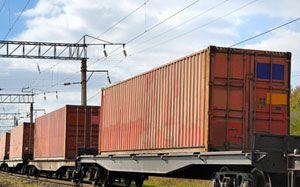 image: Scotland intermodal truck freight rail modal shift