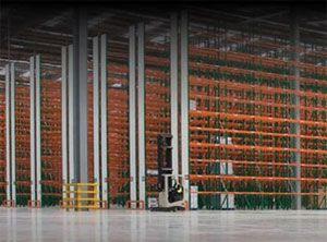 image: RediGroup RediRack bolt free racking freight logistics pallet administration