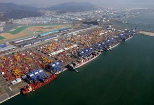 image: DP World port logistics container freight TEU infrastructure