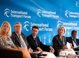 image: OECD transport infrastructure forum air freight ministers Leipzig logistics