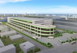 image: Japan Abu Dhabi freight logistics distribution centre