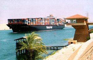 image: Egypt container shipping bulk freight port terminals oil gas silo