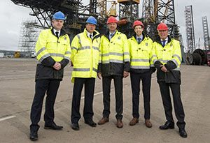 image: UK Port of Dundee North Sea Oil and Gas Offshore Decommissioning Hub Forth Ports