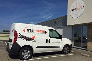 image: Netherlands Interfresh Panalpina third party logistics freight shipper