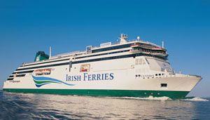 image: Ireland Europe container freight RoRo cargo ferries LoLo terminal