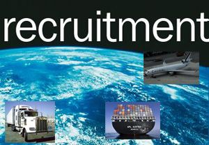 image: UK US supply chain professional jobs ocean and air freight shipping project cargo