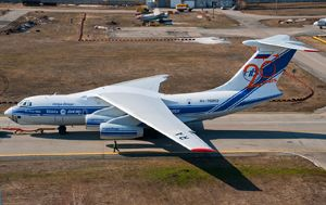 image: Russia Ilyushin air freight cargo aircraft