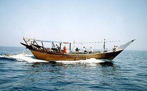 image: Oman UK Somalia pirate hijack maritime cargo vessel dhow