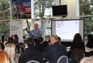 image: UK Belfast Northern Ireland BIFA freight forwarding logistics multimodal apprenticeships Carl Hobbis
