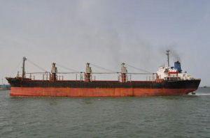 image: Djibouti Somalia pirate freight ship