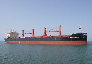 image: Lloyds Register dwt supramax bulk freight carrier vessel environmental design