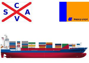 image: CSAV Hapag-Lloyd container shipping line merger
