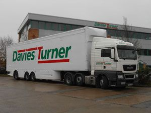 image: UK rail freight forwarder road haulage longer lorry trailer trial