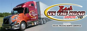 image: US Canada  American Arrow truck sales Volvo North America freighter rig States Owner Operator Independent Drivers Association (OOIDA) Michelin trailer haulier