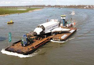 image: Europe freight by water inland waterways European Transport Workers� Federation (ETF)