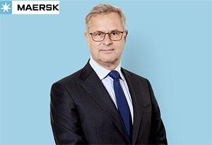 image: Denmark Maersk ocean container shipping Q1 figures S�ren Skou freight logistics